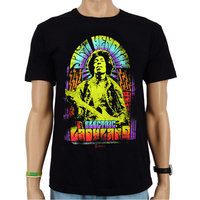 Jimi Hendrix - Electric Ladyland - Heren Zwart easy-fit T-shirt