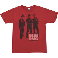 Hip Hop RUN DMC Pose Heren Rood T-shirt