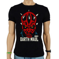 Star Wars Darth Maul Heren Zwart slim-fit T-shirt