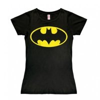 Batman - DC Comics - Dames Zwart T-shirt