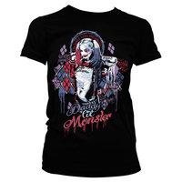 Suicide Squad Harley Quinn Dames Zwart T-shirt