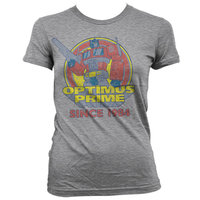 Transformers - Optimus Prime - Dames Grijs T-shirt