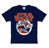 Star Wars - X-Wing Rebel Starfighter - Blauw Kinder T-shirt