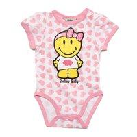 Smiley - Meisje Baby Romper