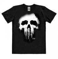 The Punisher Skull Marvel Heren easy-fit Organic T-shirt zwart