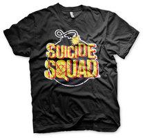 Suicide Squad - Bomb -Zwart Heren T-shirt
