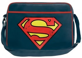 Superman Vintage Logo DC Comics Schoudertas