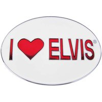 Elvis - I LOVE ELVIS! - Riem Buckle/Gesp