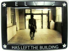 Elvis Has Left The Building - Riem Buckle/Gesp