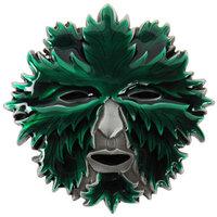 Creepy Mask - Green Leaves - Riem Buckle/Gesp