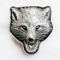 Wolf Metal Riem Gesp/Buckle