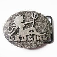Bad Girl - Trucker - Riem Buckle/Gesp
