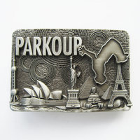 Parkour Metal Riem Gesp/Buckle