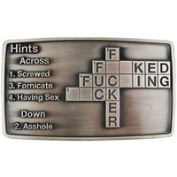 Hints Across F*ck Riem Buckle/Gesp