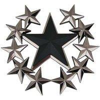 Zwarte Ster met sterren Riem Buckle/Gesp