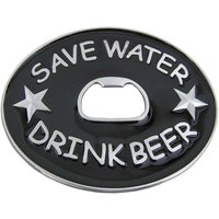 Flesopener Save Water Drink Bier Riem Buckle/Gesp