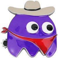Pac-Man Cowboy Ghost Paars Riem Buckle/Gesp