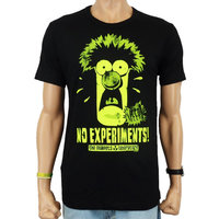 De Muppets - Beaker - Glow Heren Zwart easy-fit T-shirt