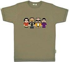 Toonstar - Bowling Team - Olijf Heren T-shirt