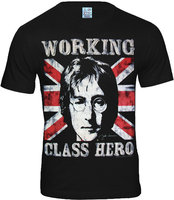 The Beatles - Working Class Hero - John Lennon Zwart T-shirt