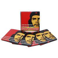 Che Guevara Onderzetters 4 stuks