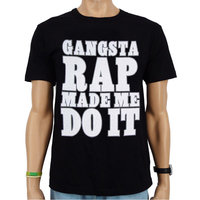 Ice Cube - Gangsta Rap Made Me Do It - Hip Hop Heren Zwart T-shirt