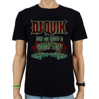 DJ Quik - Born and Raised in Compton - Hip Hop Heren Zwart T-shirt