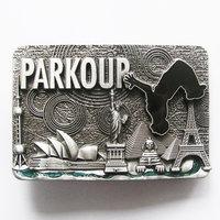 Parkour Metal Riem black Gesp/Buckle