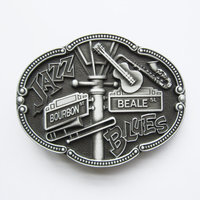 Jazz and Blues geborsteld Riem Buckle/Gesp