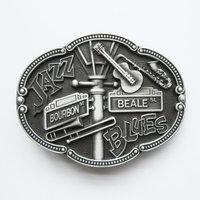 Jazz and Blues geborsteld Riem Buckle/Gesp