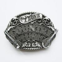 Western Country Music geborsteld Riem Gesp/Buckle