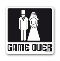 Game over onderzetter