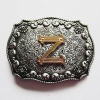 Letter Z Initiaal Riem Buckle/Gesp