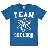 Big Bang Theory - Team Sheldon - T-Shirt Easy Fit - azure blue