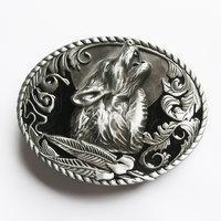 Wolf Western Vintage Riem Buckle/Gesp