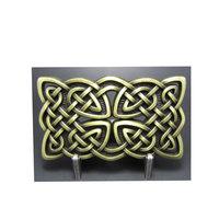 Keltisch Vintage Brons Symbool Riem Gesp/Buckle