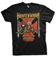 HERO OF ETERNIA  T-SHIRT- EASY FIT - Zwart