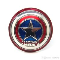 CAPTAIN AMERICA Shield Superhero 3d Metal Riem Gesp/Buckle