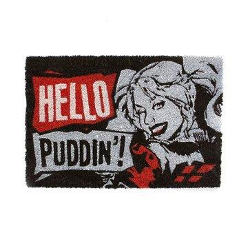 DC COMICS - HARLEY QUINN PUDDIN' Deur MAT