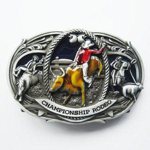 Western Rodeo Cowboy Riem Buckle/gesp