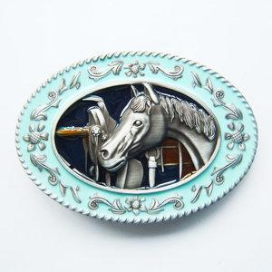New Horse Head Saddle Western Riem Buckle/gesp