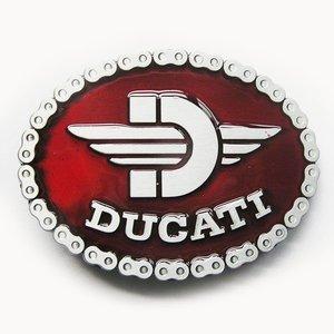 Ducati Rood Riem Buckle/Gesp