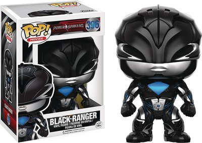 POP! VINYL POWER RANGERS MOVIE BLK RANGE
