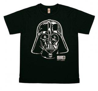 Star Wars - Darth Vader - Portrait - T-Shirt Vintage Mens - vintage black