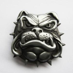 Bulldog Face as Riem Buckle/Gesp