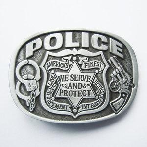 Police - Mat Riem Buckle/Gesp