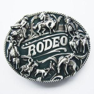 Rodeo Cowboy Man Western Riem Buckle/Gesp