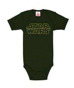 Star Wars Logo Baby Romper