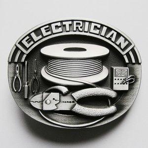 Electricien Metal Embleem Riem Buckle/Gesp