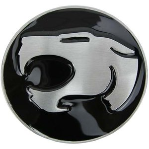 Thundercats - Logo - Zwarte Riem Gesp/Buckle